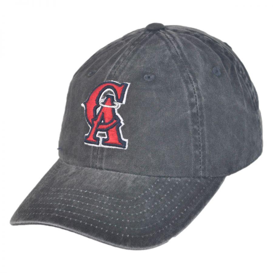 American Needle Los Angeles Angels of Anaheim MLB Raglan Strapback Baseball  Cap Dad Hat 800e0e12028