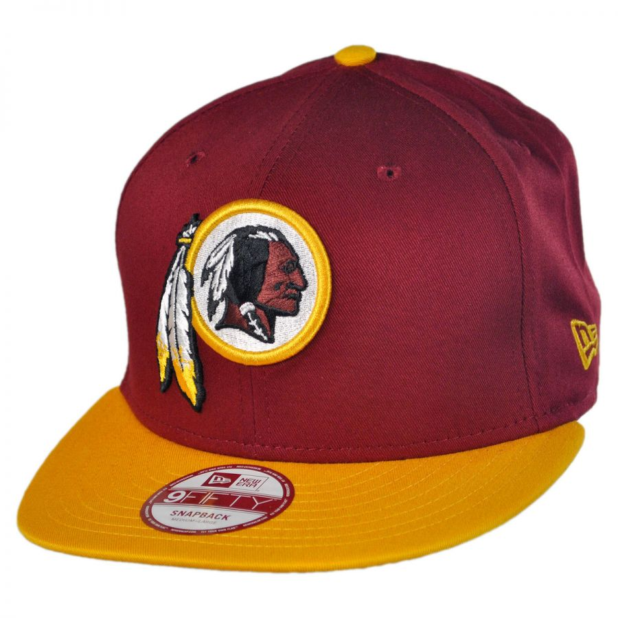 new era washington redskins nfl 9fifty snapback baseball cap nfl