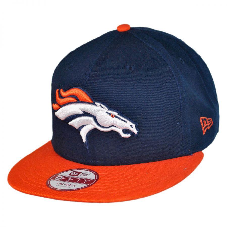 New Era Denver Broncos NFL 9Fifty Snapback Baseball Cap NFL Football Caps dc9e9c9f1b2