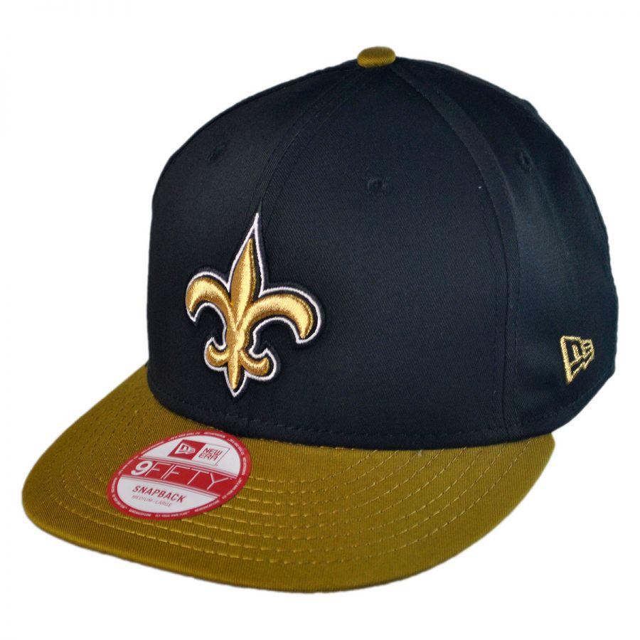 outlet store 1e1bd 8fc5c New Orleans Saints NFL 9Fifty Snapback Baseball Cap alternate view 1
