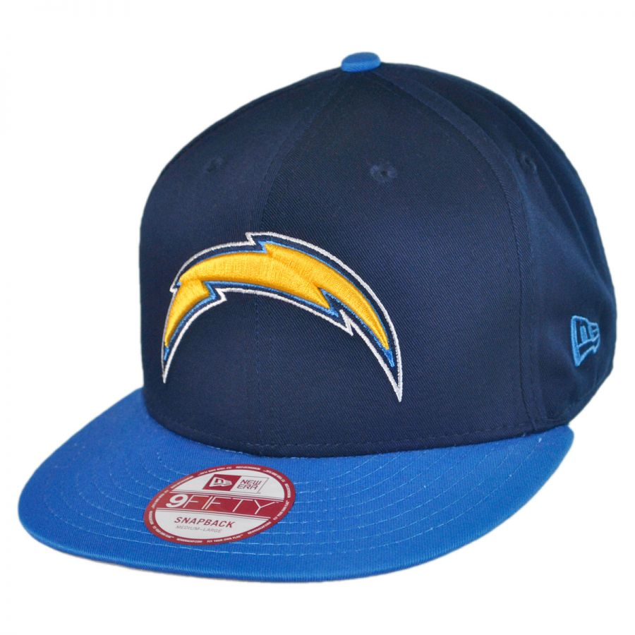 San Diego Chargers Fitted Hats: New Era San Diego Chargers NFL 9Fifty Snapback Baseball