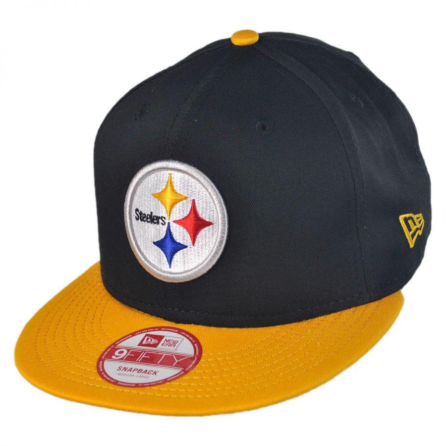 Pittsburgh Steelers NFL 9Fifty Snapback Baseball Cap alternate view 1 2eae45623