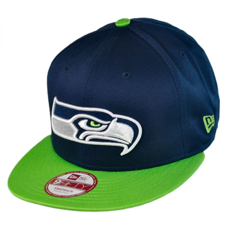 new era seattle seahawks nfl 9fifty snapback baseball cap. Black Bedroom Furniture Sets. Home Design Ideas