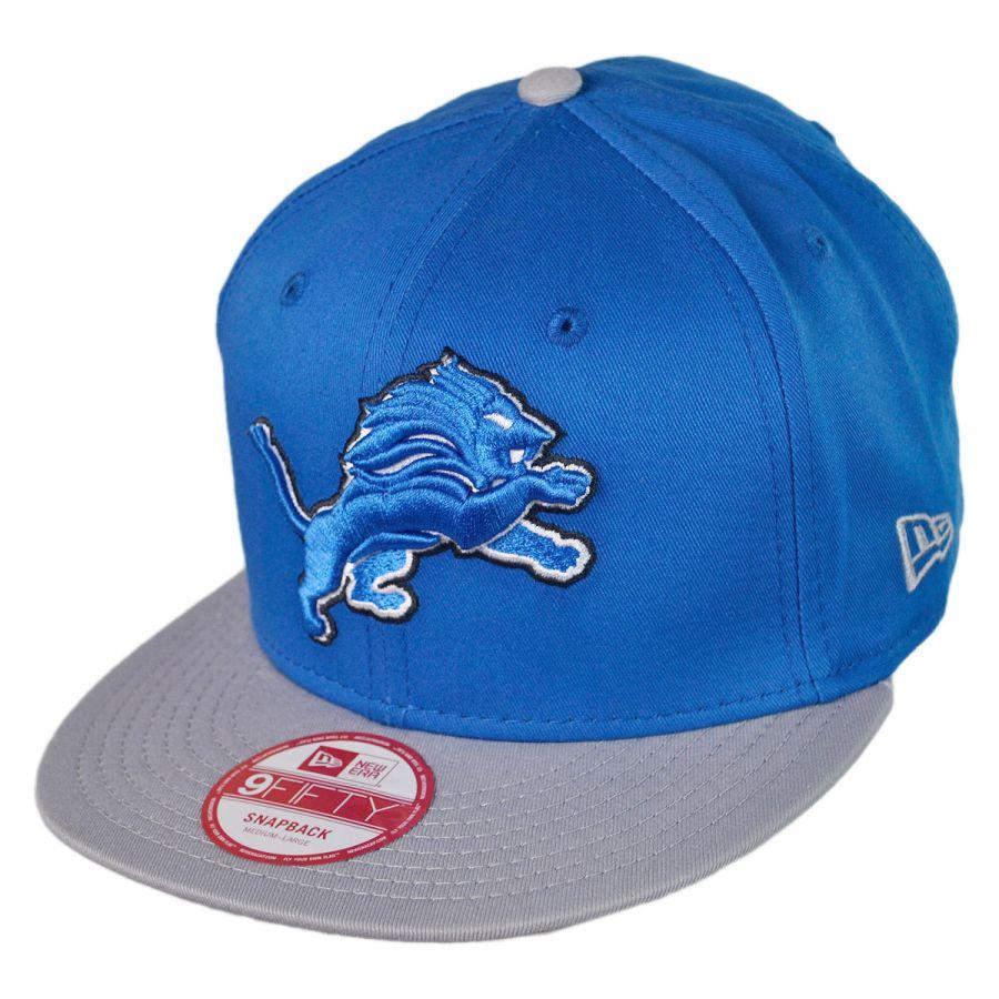Hot New Era Detroit Lions NFL 9Fifty Snapback Baseball Cap NFL Football Caps  free shipping