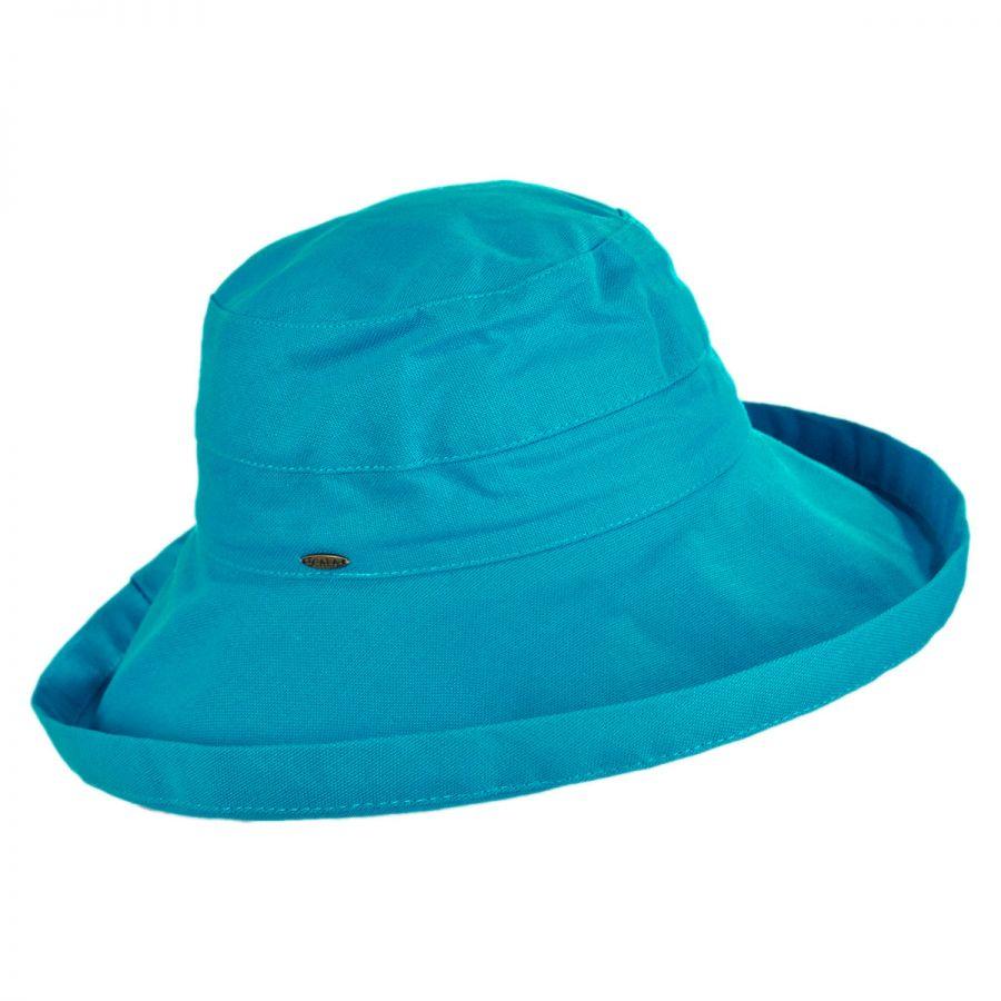 Scala Lanikai Cotton Sun Hat Sun Protection 96503912842