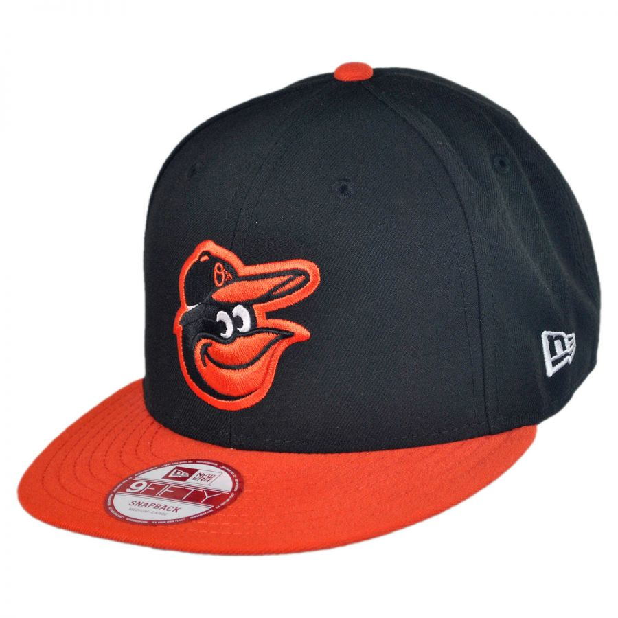 new era baltimore orioles mlb 9fifty snapback baseball cap. Black Bedroom Furniture Sets. Home Design Ideas