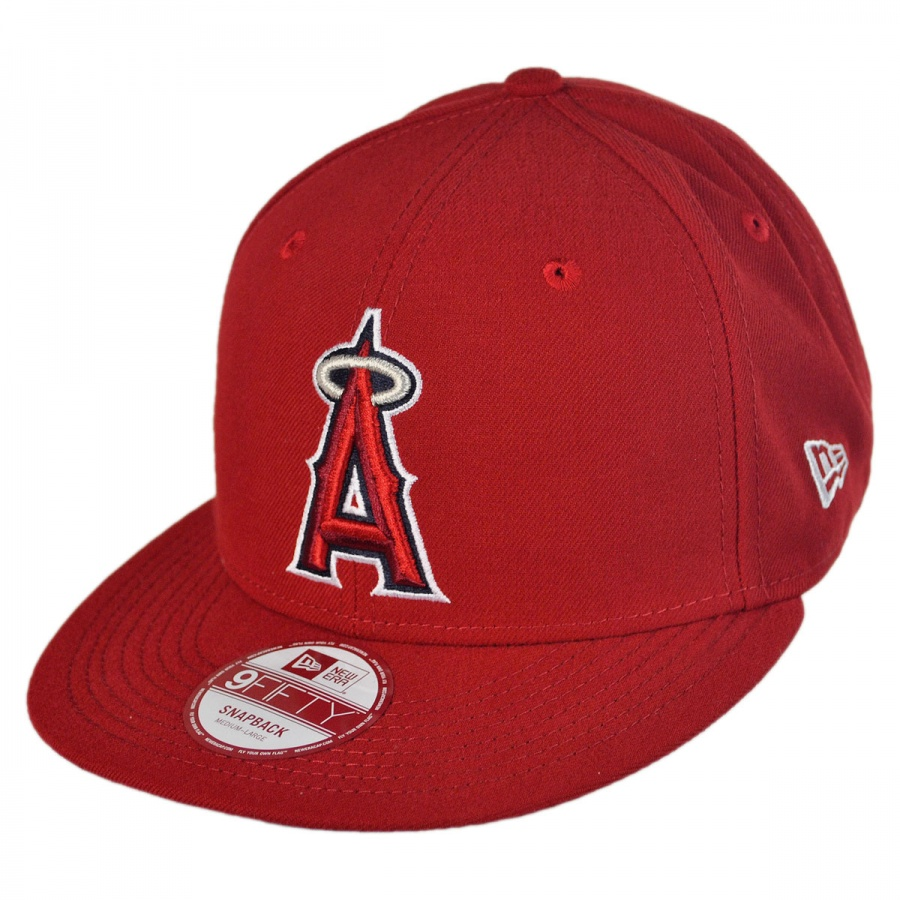 new era los angeles of anaheim mlb 9fifty snapback
