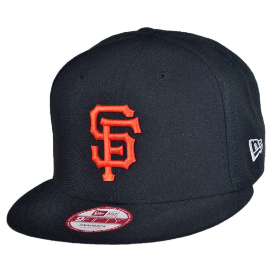 new era san francisco giants mlb 9fifty snapback baseball