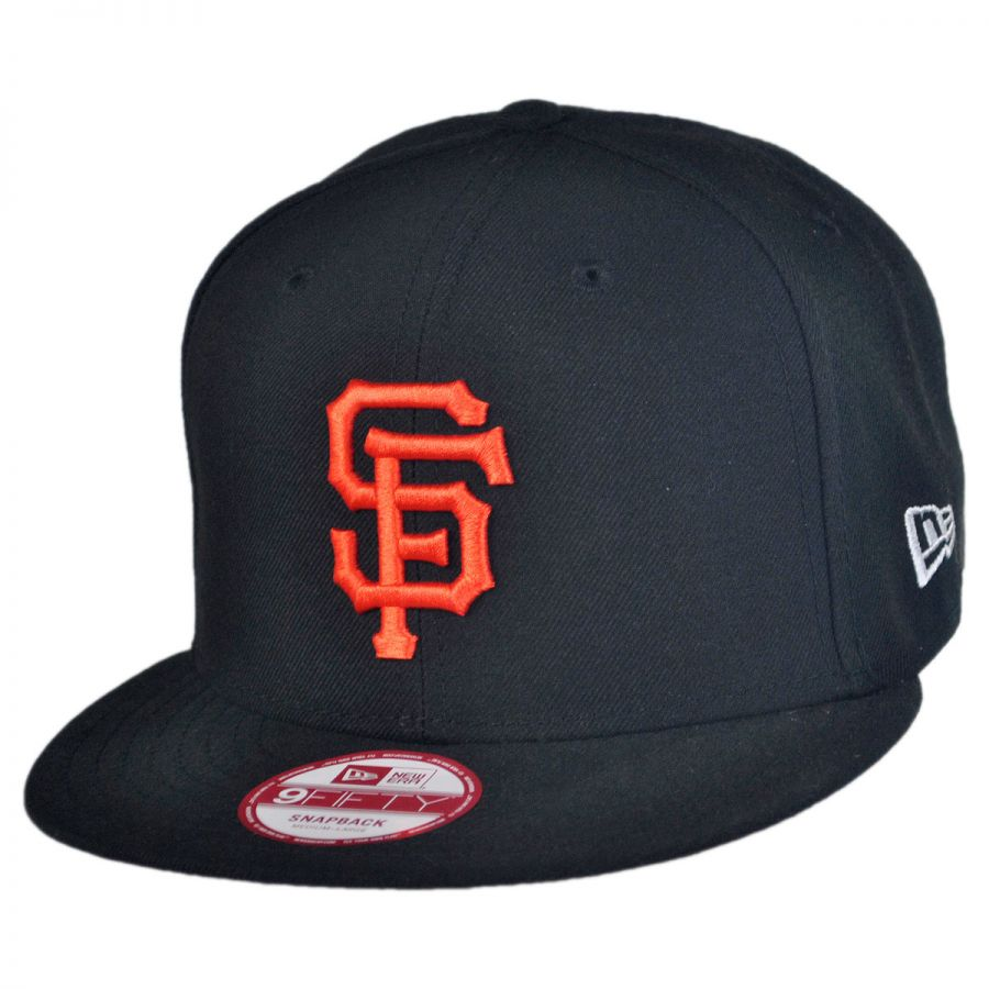 new era san francisco giants mlb 9fifty snapback baseball