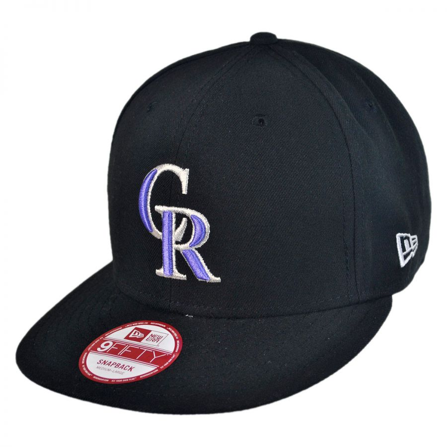 new era colorado rockies mlb 9fifty snapback baseball cap. Black Bedroom Furniture Sets. Home Design Ideas
