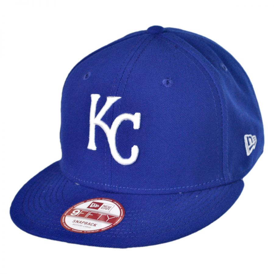 new era kansas city royals mlb 9fifty snapback baseball. Black Bedroom Furniture Sets. Home Design Ideas