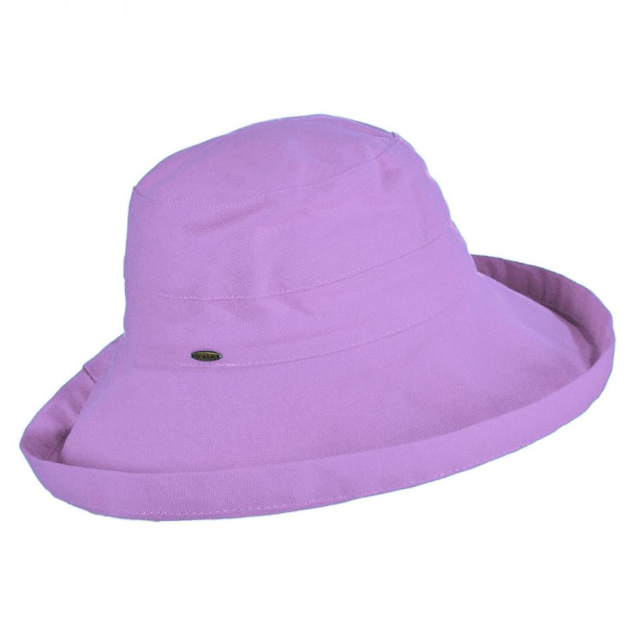 157c45d8 Scala Lahaina Cotton Sun Hat Sun Protection
