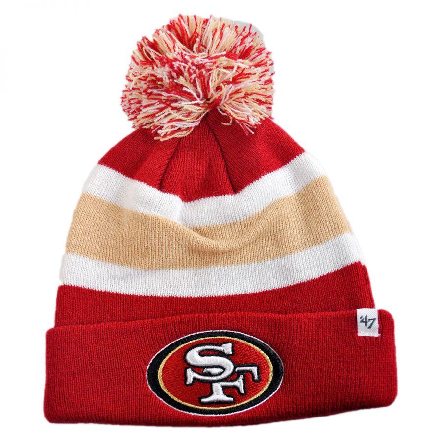 pretty nice 7cf6c 2abad 47 Brand San Francisco 49ers NFL Breakaway Knit Beanie Hat