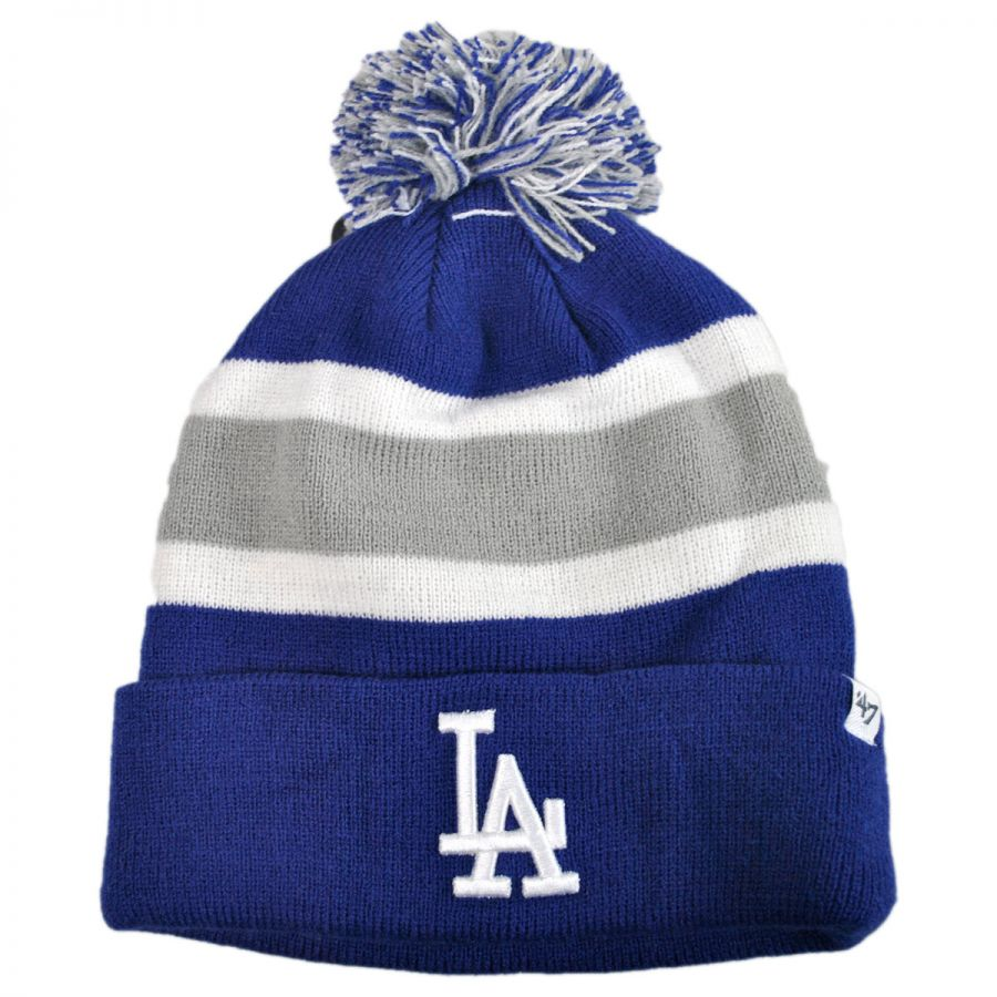 47 Brand Los Angeles Dodgers Mlb Breakaway Knit Beanie Hat