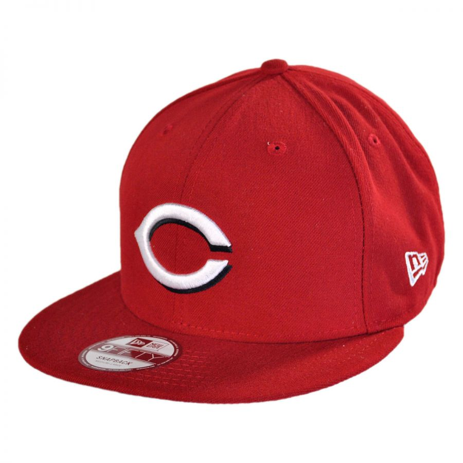 new era cincinnati reds mlb 9fifty snapback baseball cap