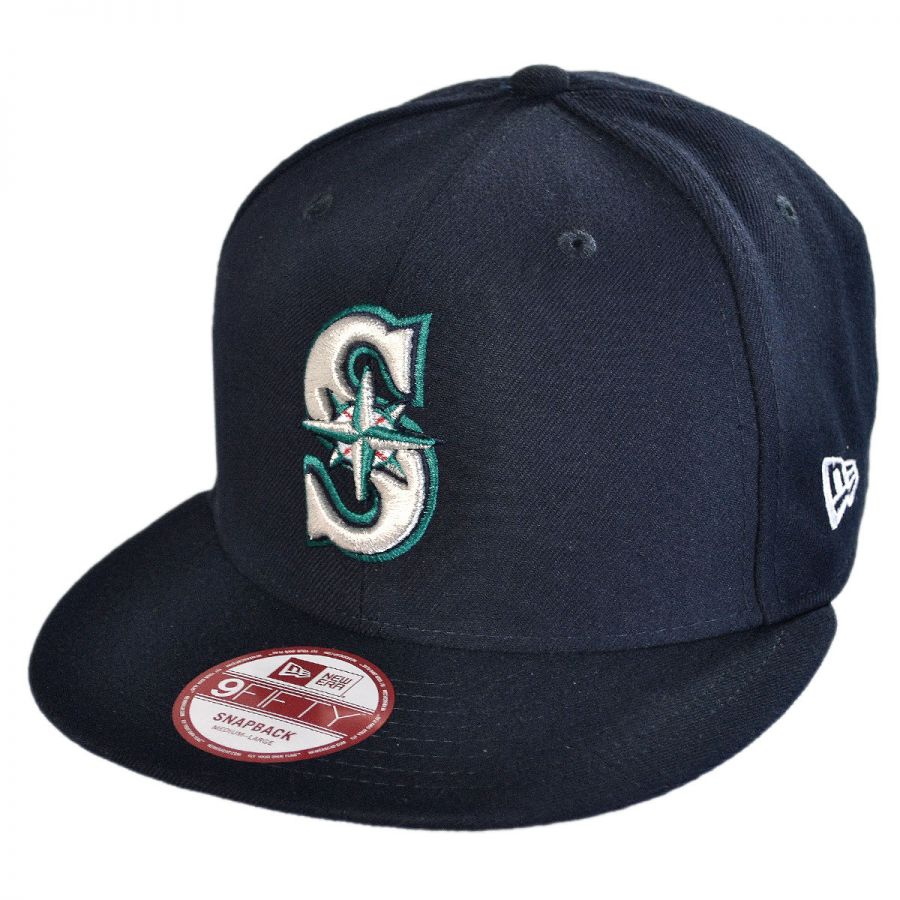 new era seattle mariners mlb 9fiftysnapback baseball cap. Black Bedroom Furniture Sets. Home Design Ideas