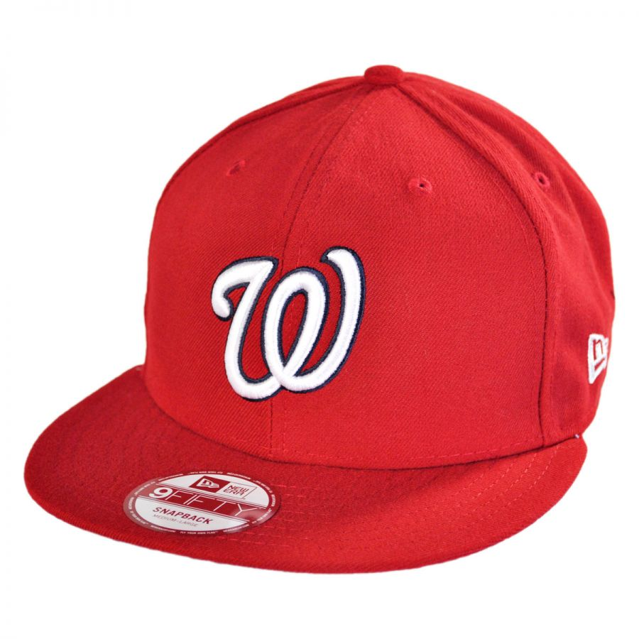 new era washington nationals mlb 9fifty snapback baseball