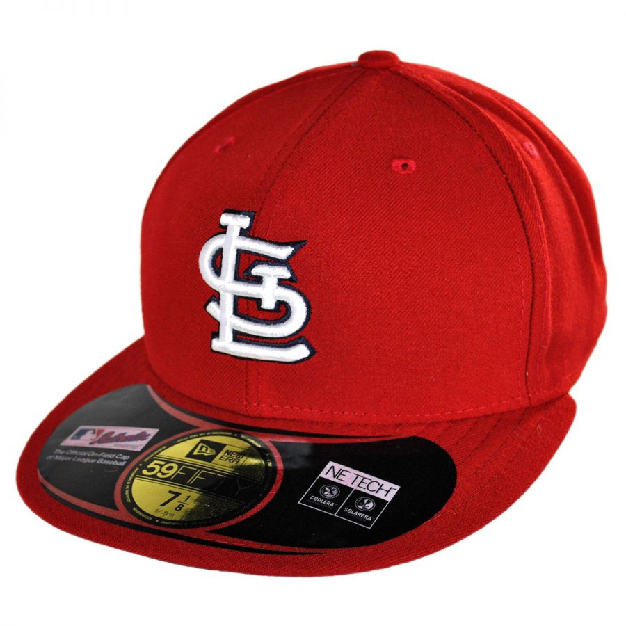 new era st louis cardinals mlb game 59fifty fitted. Black Bedroom Furniture Sets. Home Design Ideas
