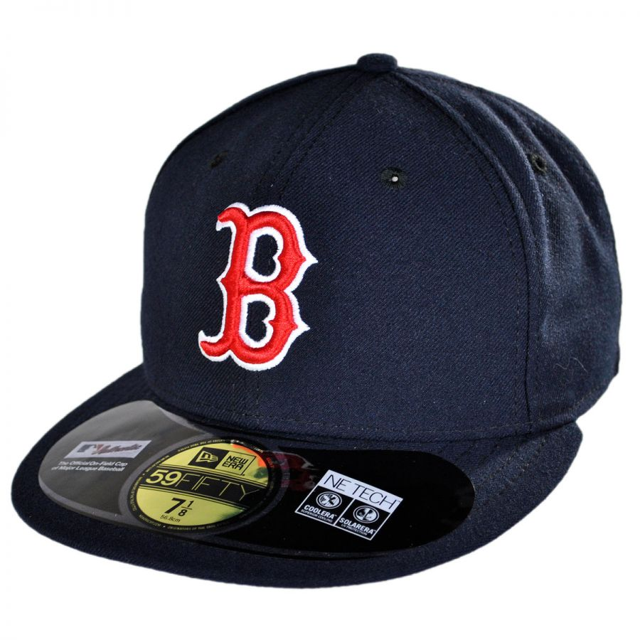 new era boston red sox mlb home 5950 fitted baseball cap. Black Bedroom Furniture Sets. Home Design Ideas