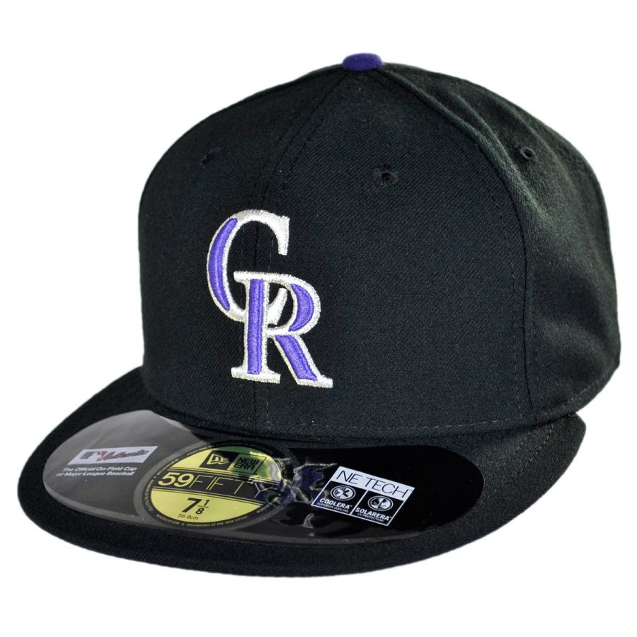check out 3342b ed28a Colorado Rockies MLB Game 59Fifty Fitted Baseball Cap alternate view 9