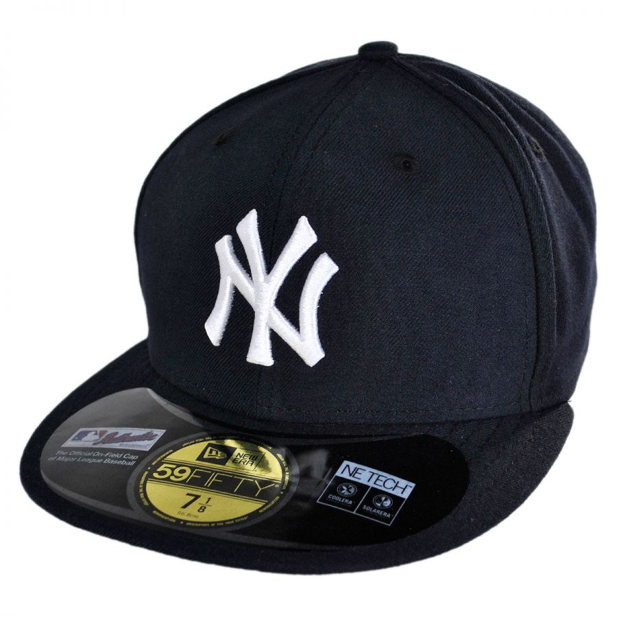new era new york yankees mlb game 59fifty fitted baseball. Black Bedroom Furniture Sets. Home Design Ideas