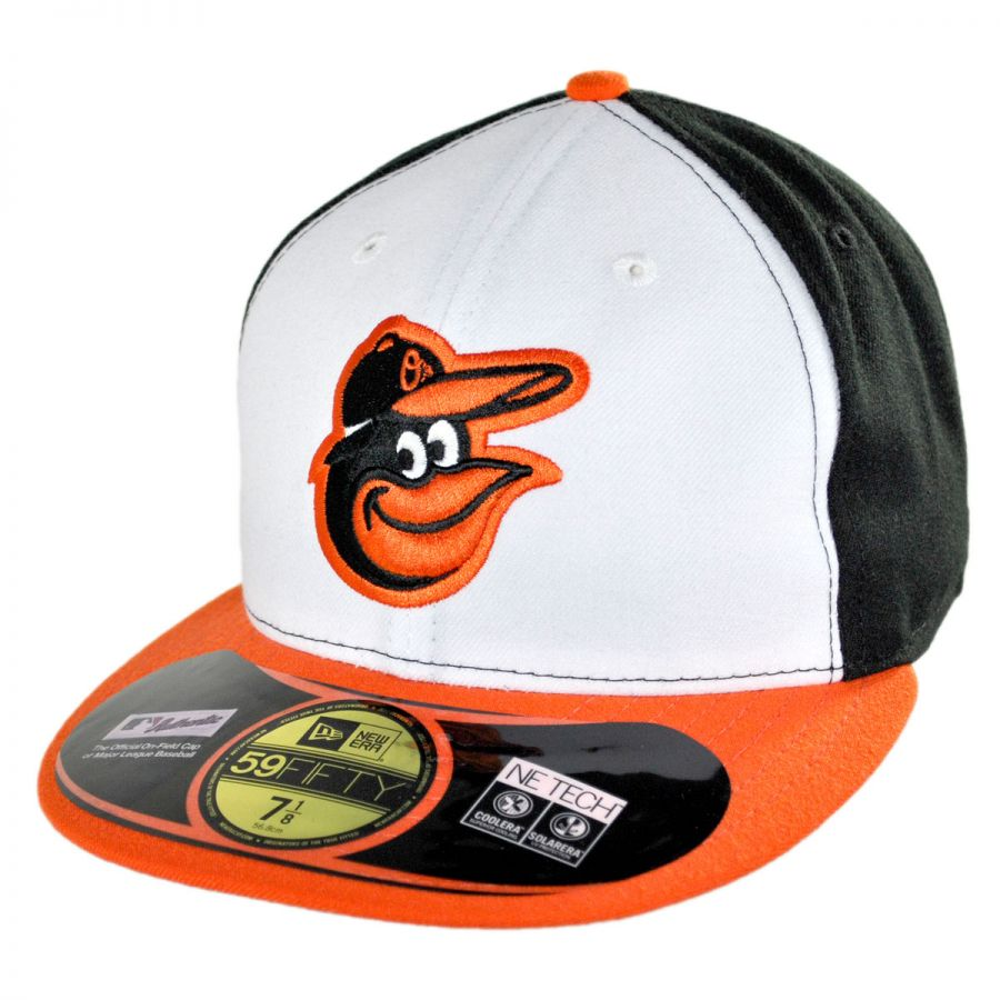 65944332660 Baltimore Orioles MLB Home 59Fifty Fitted Baseball Cap alternate view 1