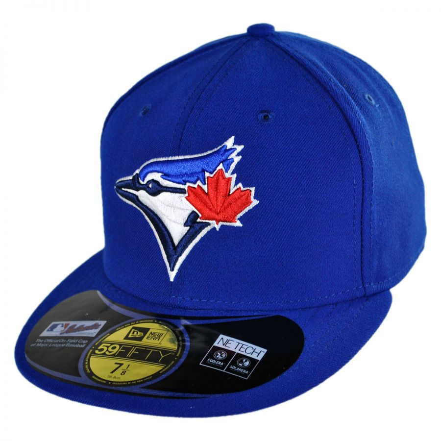 hot sale online 47003 8cfc0 Toronto Blue Jays MLB Game 59Fifty Fitted Baseball Cap alternate view 1