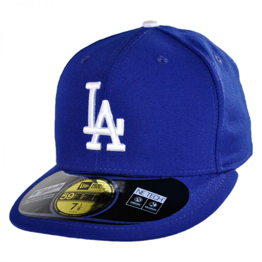 best authentic e522e d784d Los Angeles Dodgers MLB Game 59Fifty Fitted Baseball Cap alternate view 1