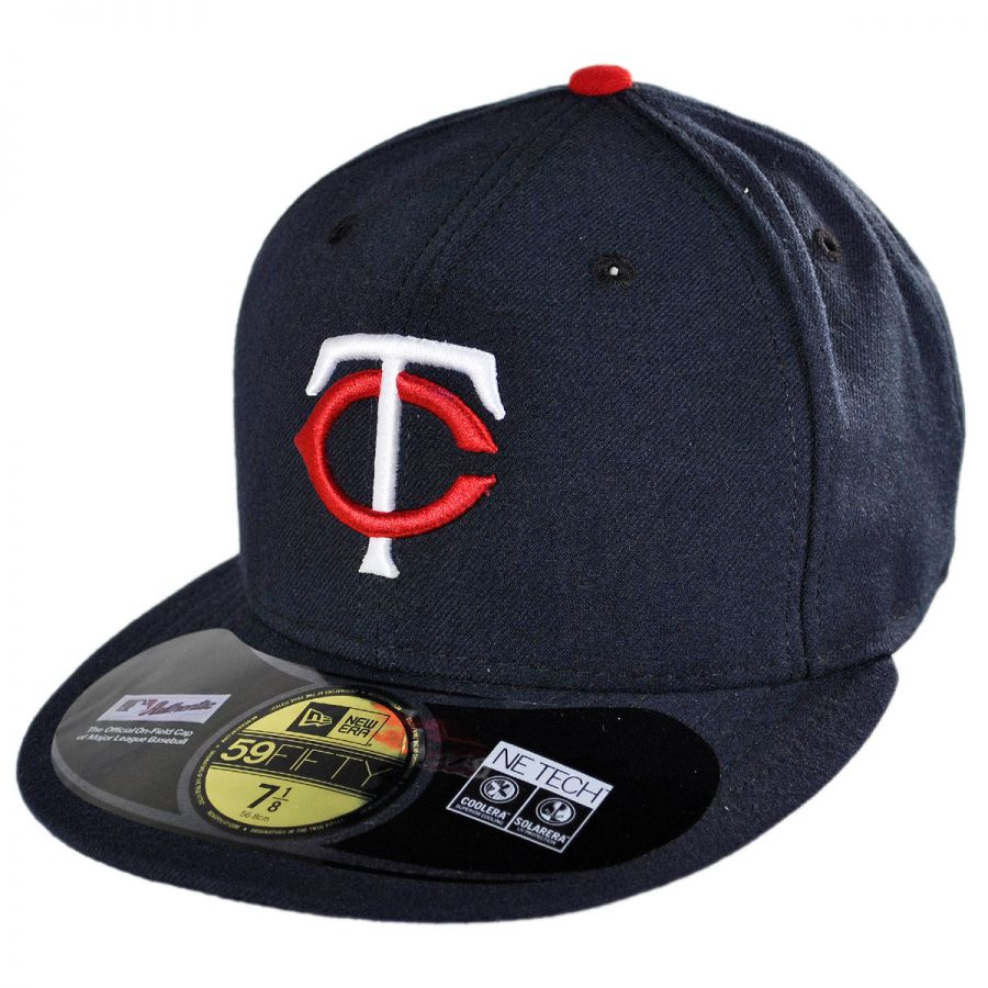 89661ae4bea Minnesota Twins MLB Home 59Fifty Fitted Baseball Cap alternate view 1