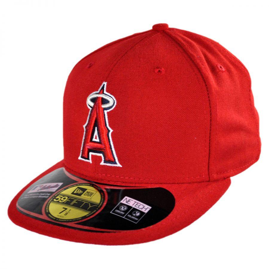 Los Angeles Angels Of Anaheim Size Medium Large Flex Fit Hat Cap Best Fits 7 1//4-7 5//8