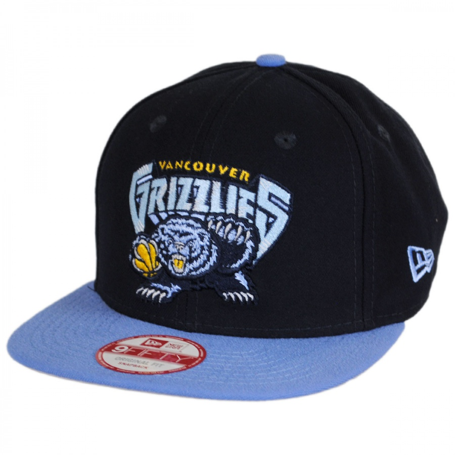 9828cbc7805ff Vancouver Grizzlies NBA Hardwood Classics 9Fifty Snapback Baseball Cap  alternate view 1