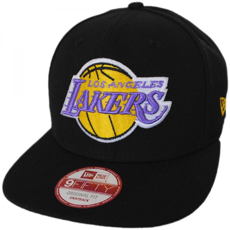 Los Angeles Lakers NBA Hardwood Classics 9Fifty Snapback Baseball Cap  alternate view 1 7926ac686acf