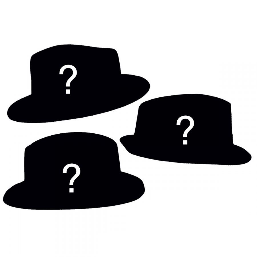 f5ff8ce6d34bd Village Hat Shop FOURdora - Four Fedora Hat Assortment Prop Kits
