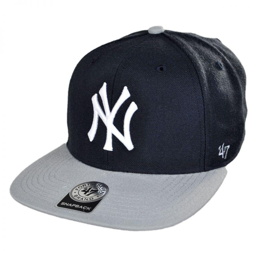 3a11822f8c3 47 Brand New York Yankees MLB Sure Shot Snapback Baseball Cap MLB ...