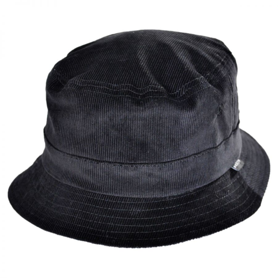 Brixton Hats Tull Reversible Corduroy Bucket Hat Bucket Hats 15f672b32c0f