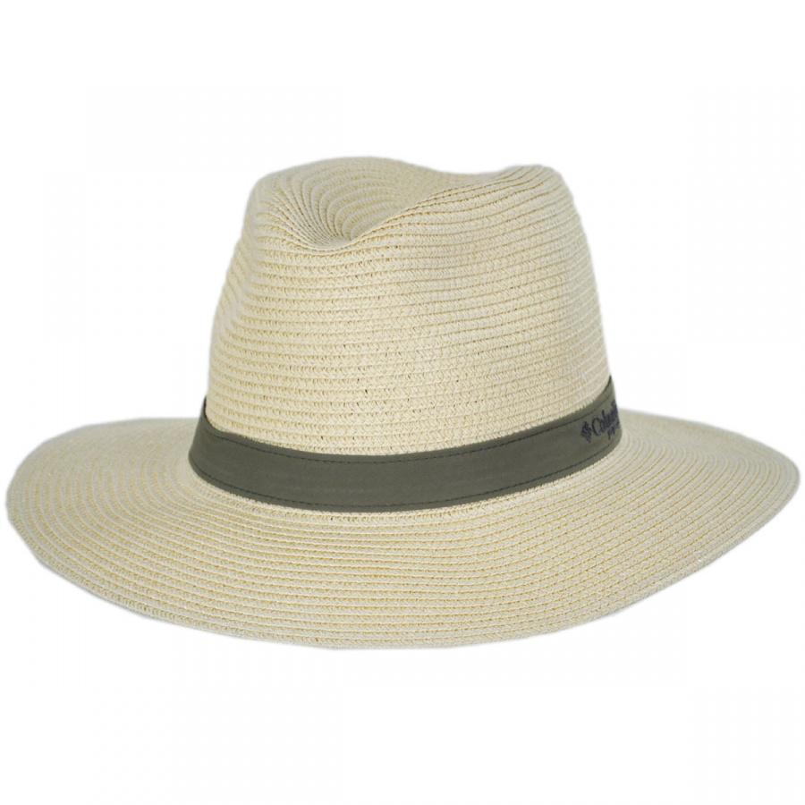 Columbia sportswear pfg bonehead toyo straw safari fedora for Fishing straw hat