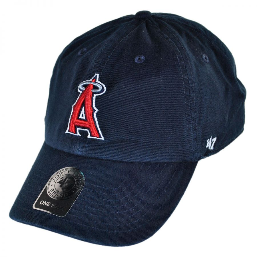 a220be5e6 Los Angeles Angels of Anaheim MLB Home Clean Up Strapback Baseball Cap Dad  Hat