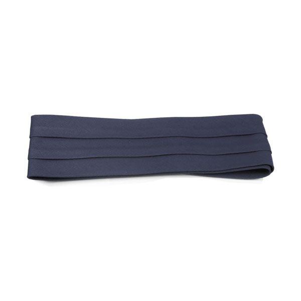 Village Hat Shop Cotton Twill 3-Pleat Pug Hat Band - Navy Blue Hat Bands 30f0f16285a