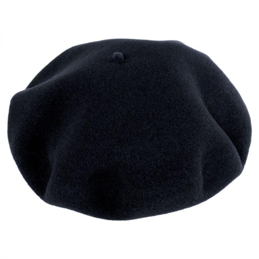fb3a9cdc68e Jaxon Hats Wool Basque Beret by Héritage par Laulhère Berets