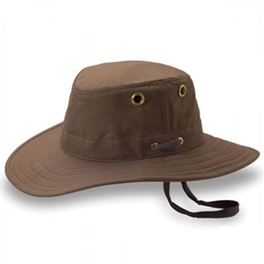 Tilley Endurables Twc4 Waxed Cotton Outback Hat Sun Protection