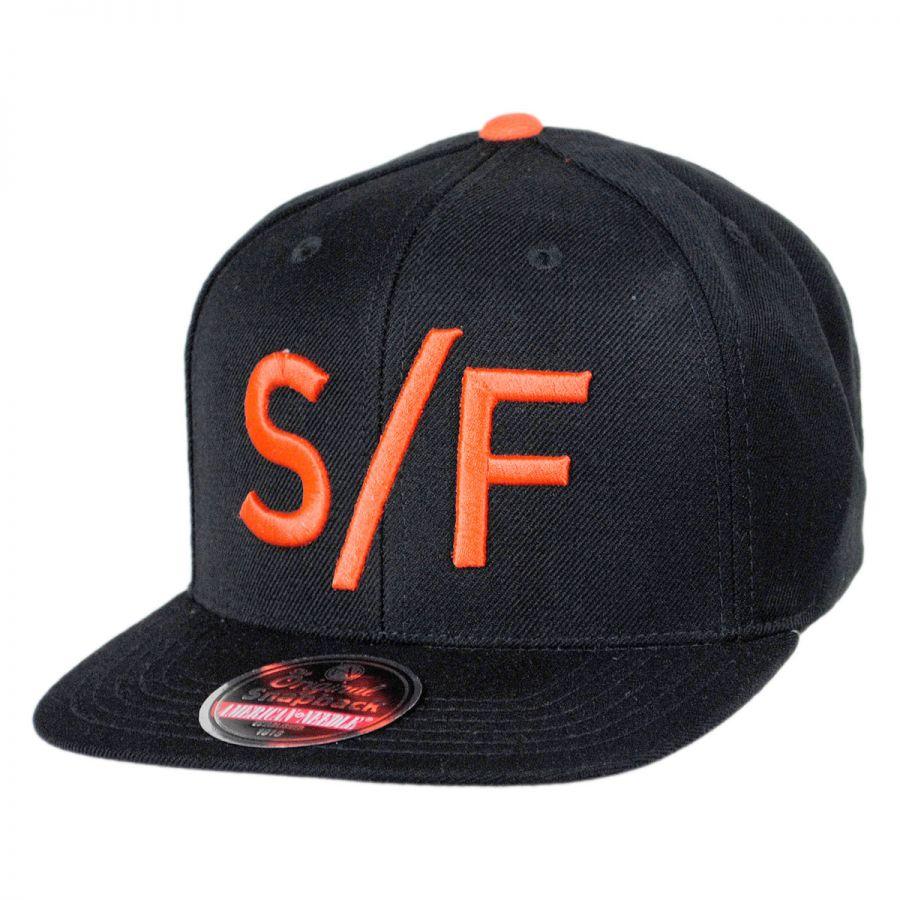 San Francisco Giants MLB Divided Snapback Baseball Cap alternate view 1 3c2b32f18368