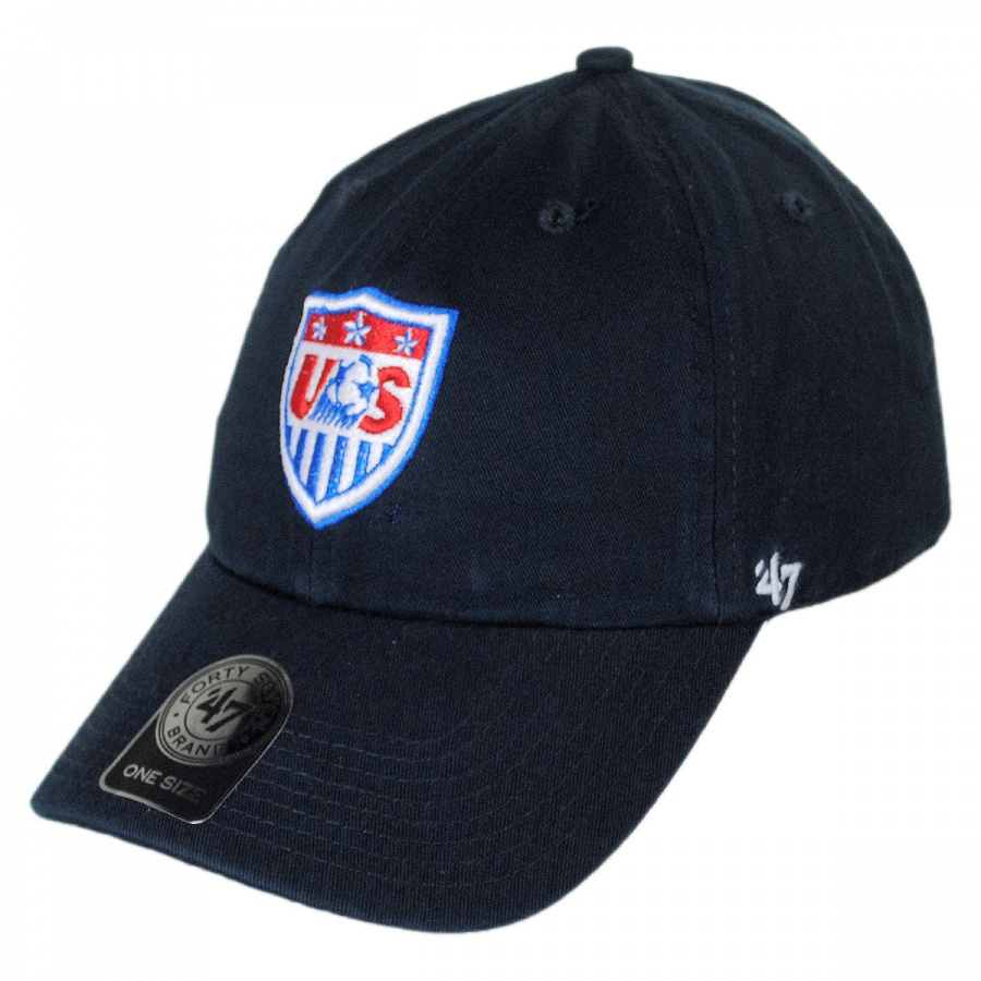 47 brand us s soccer clean up baseball cap all