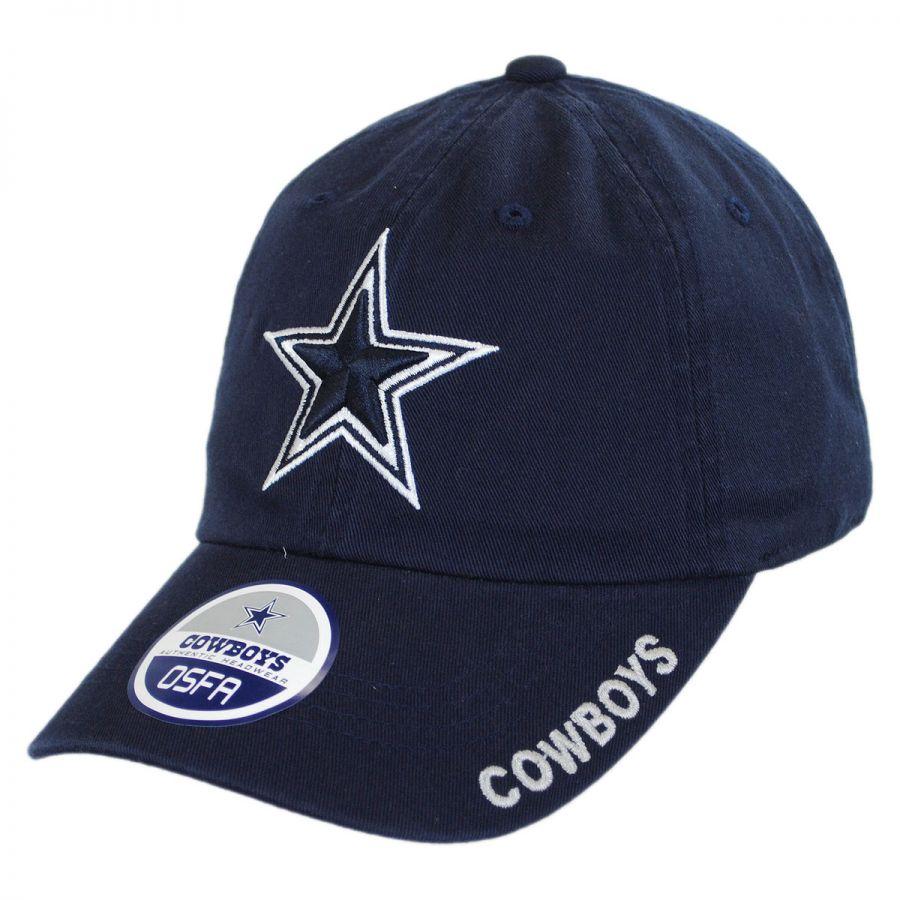 99486be0054 Dallas Cowboys NFL Slouch Strapback Baseball Cap Dad Hat alternate view 5