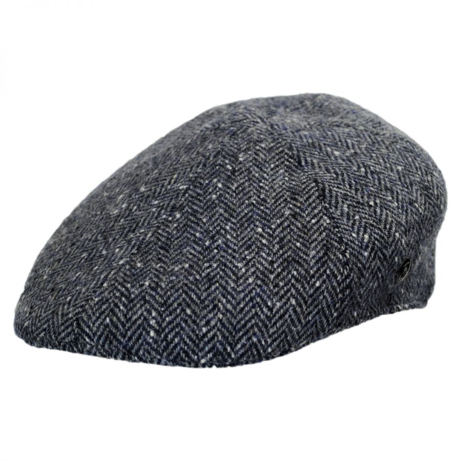 City Sport Caps Herringbone Donegal Tweed Wool Duckbill Ivy Cap ... f1e35f01d8dd
