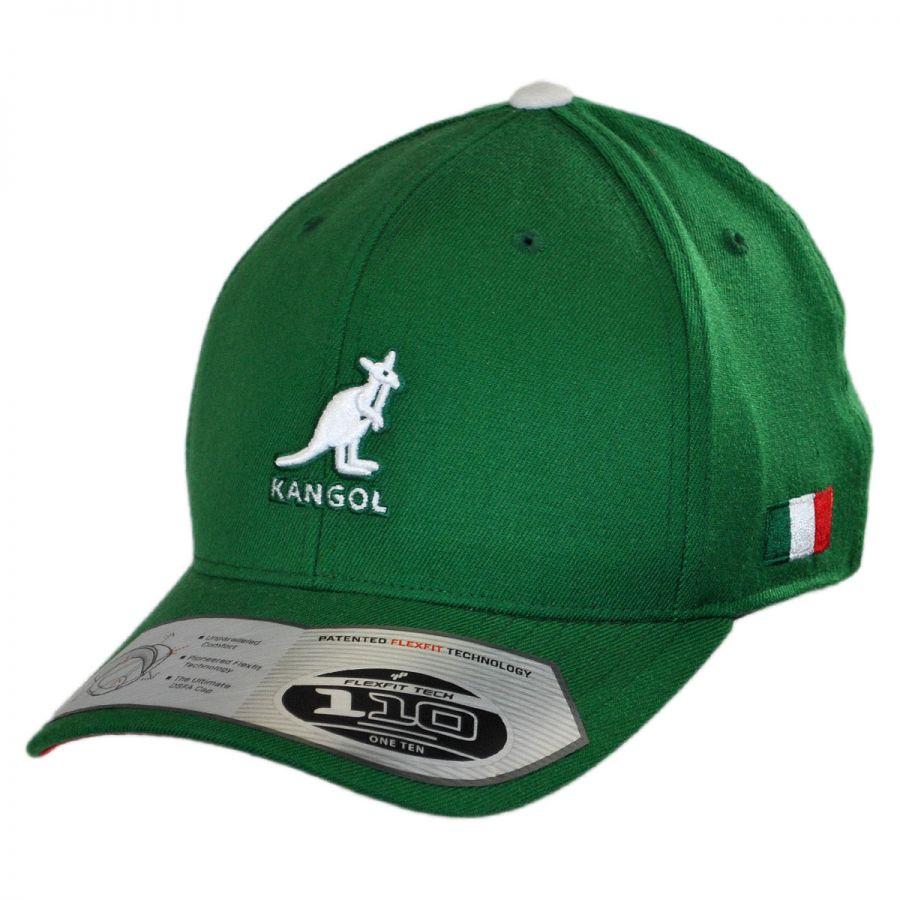 kangol nations 110 mexico adjustable baseball cap snapback