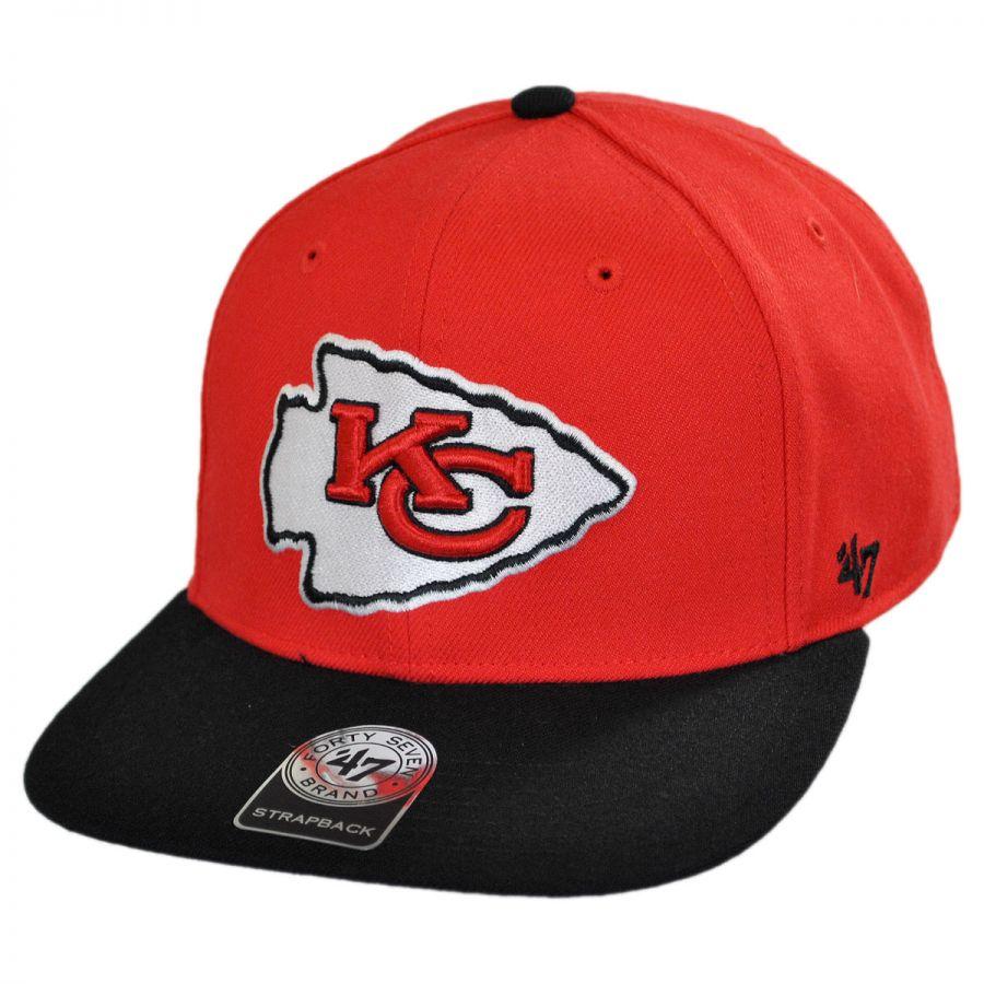 47 Brand Kansas City Chiefs Nfl Sure Shot Strapback