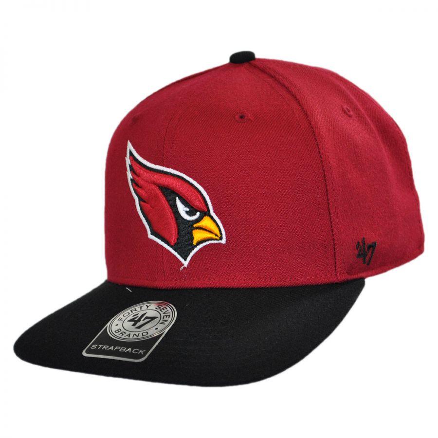 47 Brand Arizona Cardinals NFL Sure Shot Strapback Baseball Cap Dad Hat NFL Football Caps