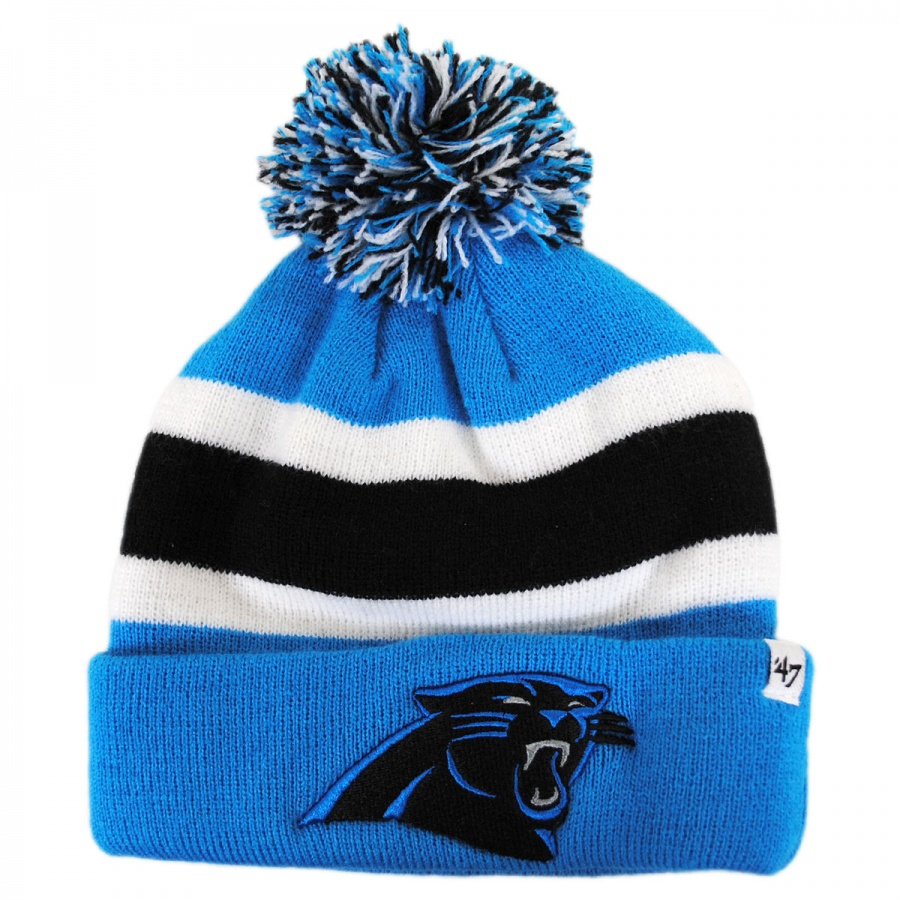 47 Brand Carolina Panthers NFL Breakaway Knit Beanie Hat NFL Football Caps