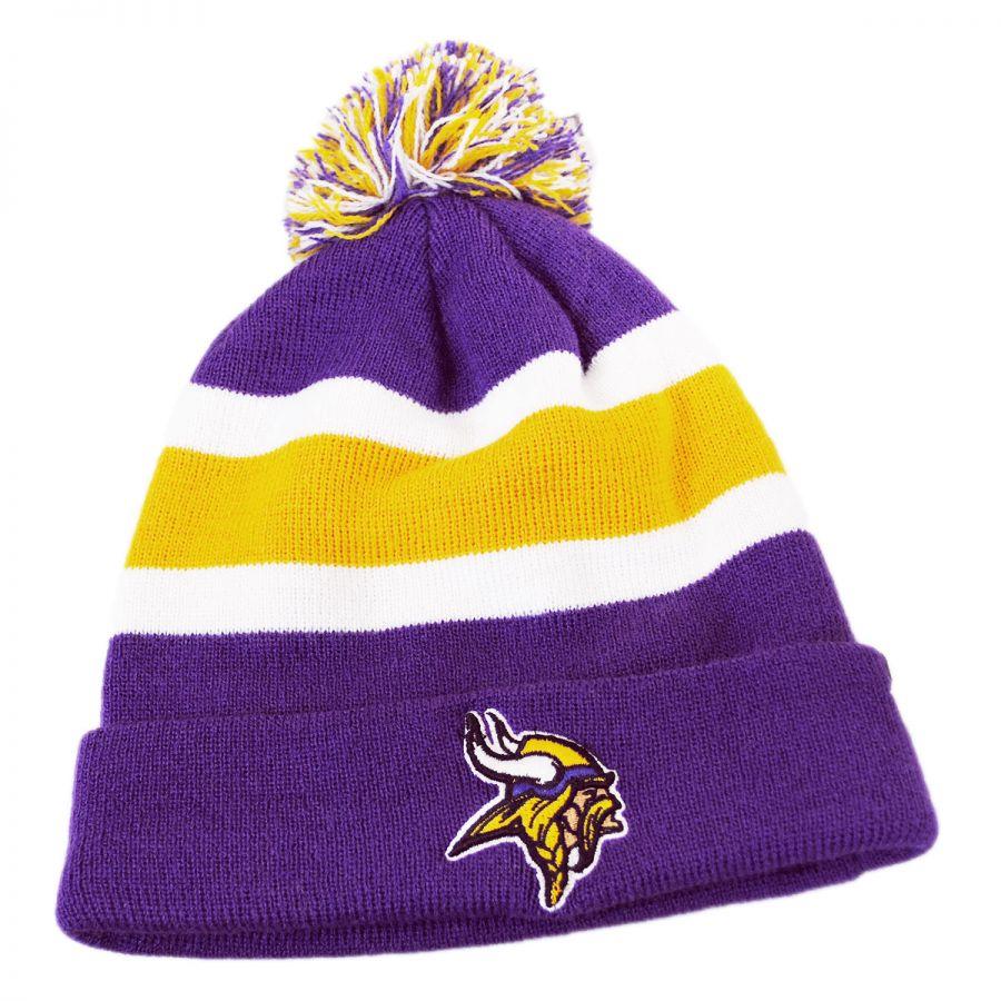 d3adbdd0018 47 Brand Minnesota Vikings NFL Breakaway Knit Beanie Hat NFL ...