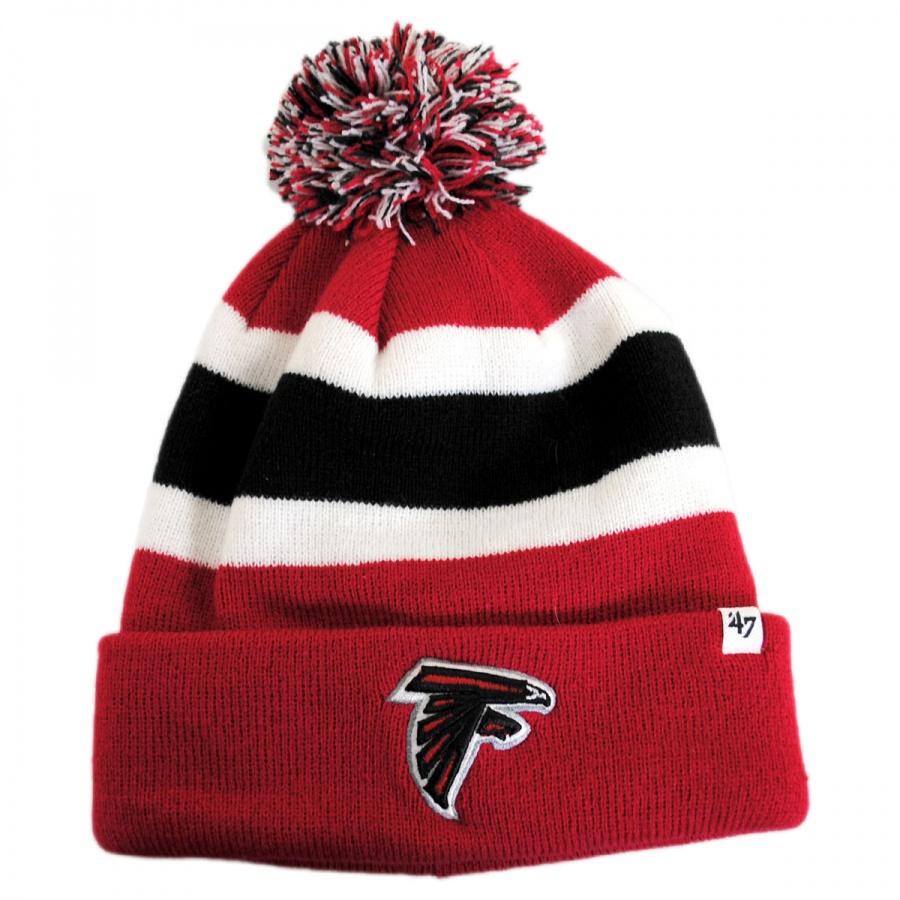 47 Brand Atlanta Falcons NFL Breakawat Knit Beanie Hat NFL Football Caps